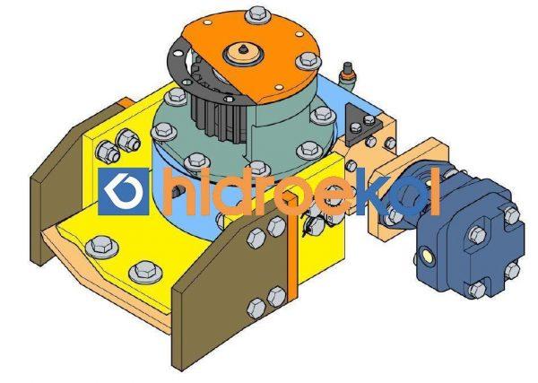 2657401135 Hidrolik Motor