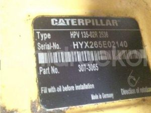 Caterpillar 333-6912 Hidrolik Pompa